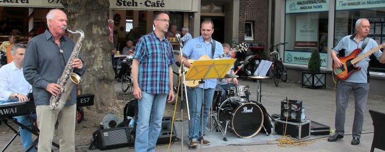 Blueswing bei der Borkener Stadtmusik